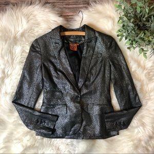 Tory Burch Carol Sparkle Blazer Jacket
